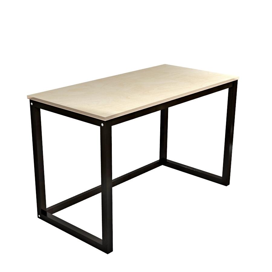 biurko ze sklejki i drewna WOMEB