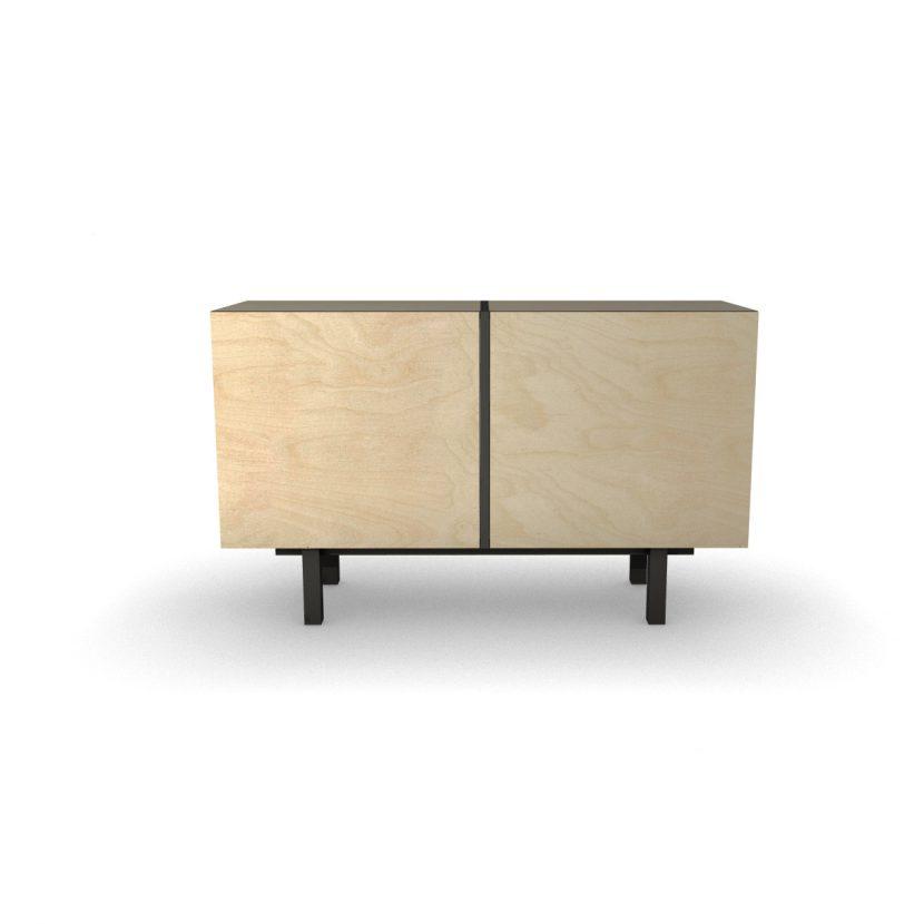 prosta, minimalistyczna komoda, szafka ze sklejki, verysimpl
