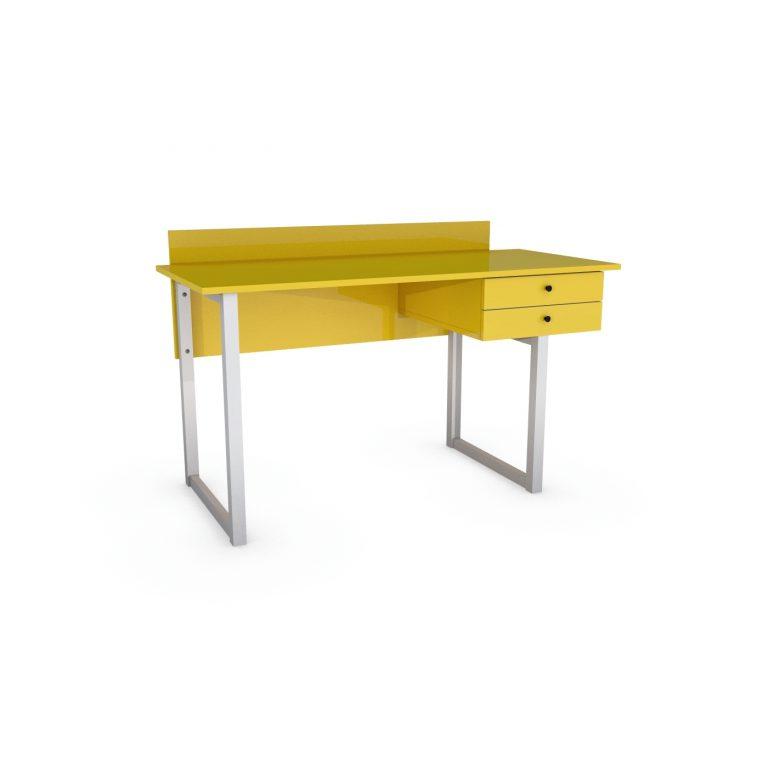 biurko sekretarzyk z szufladamid drewno, minimalizm, VERYSIMPL